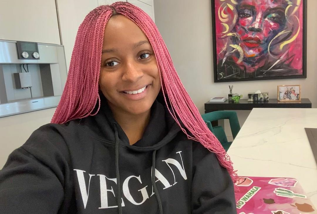Black-Lives-Matter-DJ-Cuppy-Joins-Protest-In-The UK-Teelamford