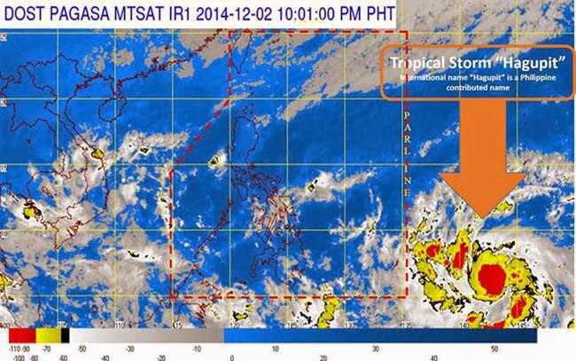 Typhoon 'Ruby' with International name of 'Hagupit' News Updates