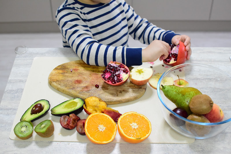 Learning About Fruits Inside and Out