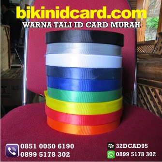warna tali id card murah