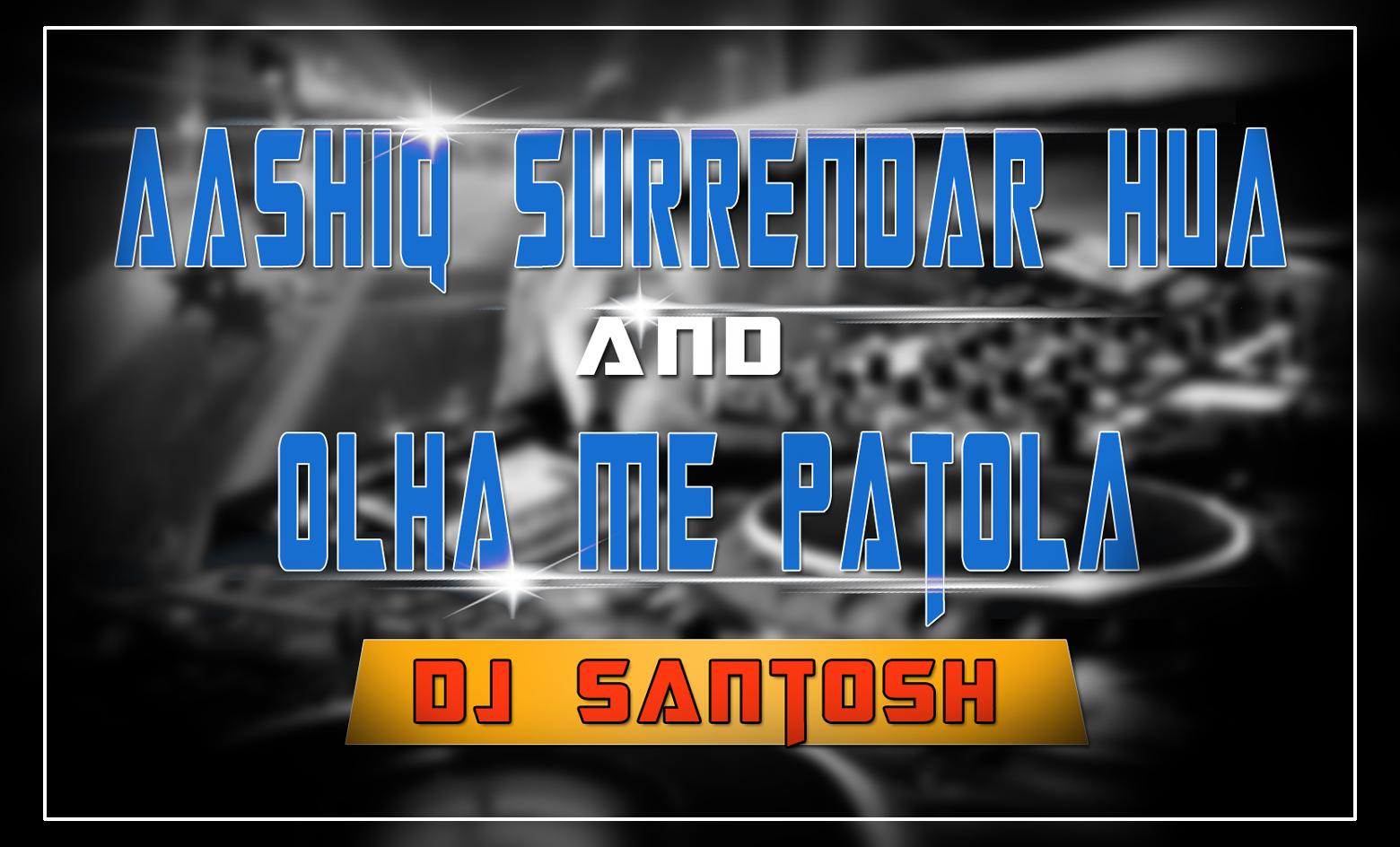 DJ SANTOSH JHANSI: 2 Dance Song - Dj Santosh Jhansi