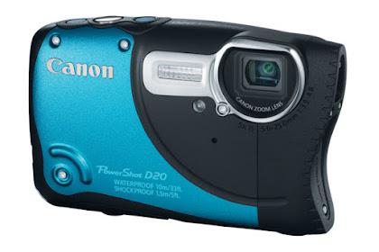 Canon PowerShot D20 Driver Download Windows, Mac