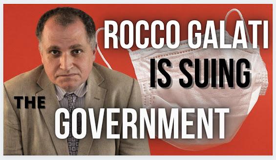 pandemic accountability fraud politics lawsuits lockdowns masking Rocco Galati