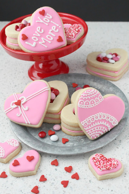 Heart Shaped Cookie Boxes