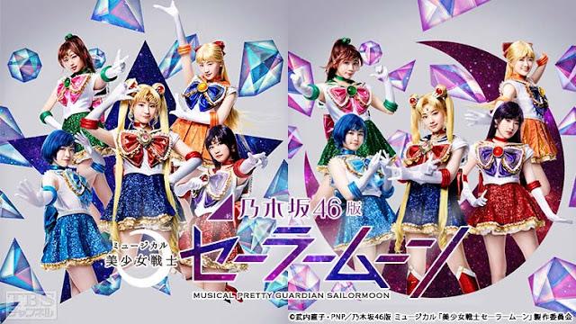 Ini Dia Anggota Baru dari Nogizaka46 untuk Musical Sailor Moon Nanti