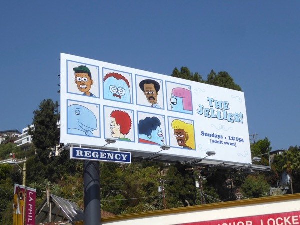 Jellies series premiere billboard