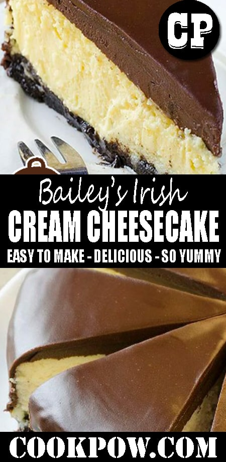 #Bailey'sIrish Cream #Cheesecake