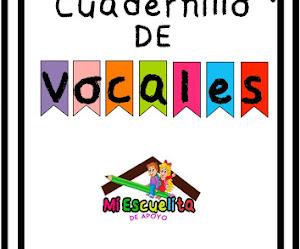 CUADERNILLO DE VOCALES