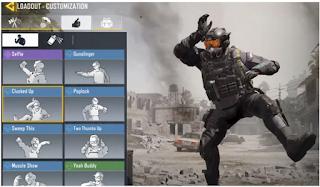 Apa itu Emote dan Cara menggunakan emotes di Call of Duty Mobile, inilah langkahnya