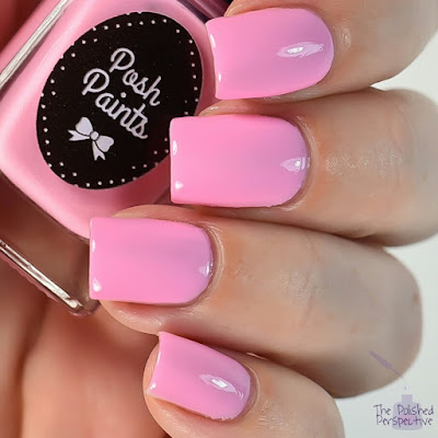 posh paints on wednesdays we wear pink swatch