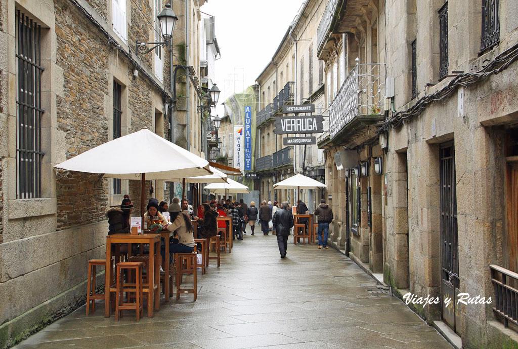 Calle de tapas de Lugo