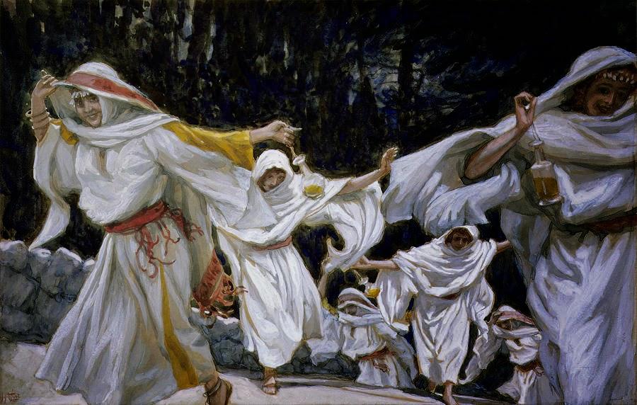 James  Tissot     The  Wise  Virgins