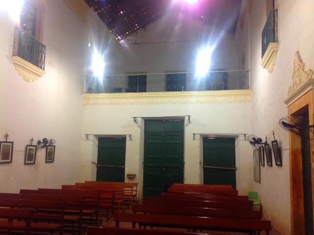 Interior da Igreja de Nossa Senhora do Rosário dos Homens Pretos