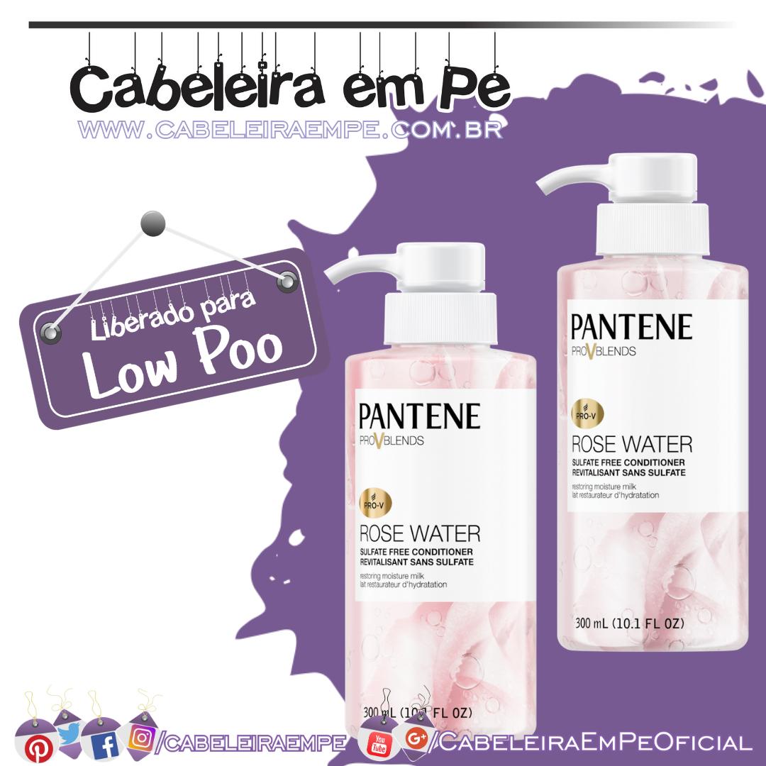 Shampoo e Condicionador Pro-V Blends Rose Water - Pantene (Low Poo)