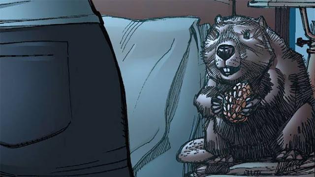 Bernie, o castor nos quadrinhos da DC Comics