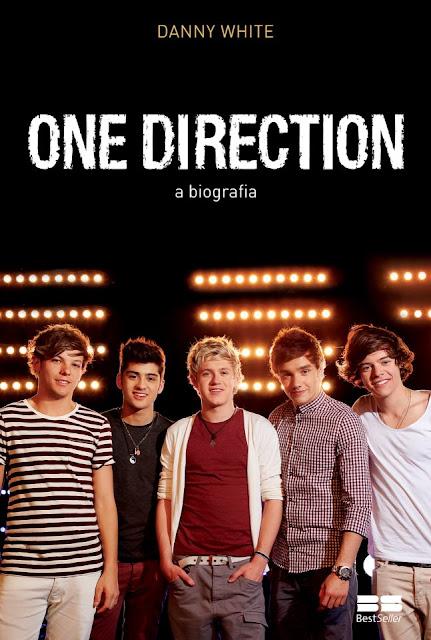 """News: Divulgada a capa do livro """"One Direction - A Biografia"""", de Danny White. 15"""