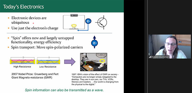 Using charge and using spin (Source: Kristen Buchanan, CSU, at CSULB Physics Colloquium)