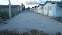 Em Baraúna, gestão municipal conclui mais uma obra de pavimentação de rua