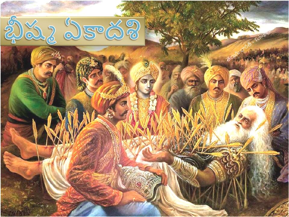 మాఘ శుద్ధ ఏకాదశి (భీష్మ ఏకాదశి) - Magha Shuddha Yekadasi - Bhishma Yekadasi
