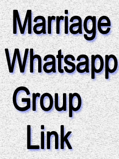Marriage Whatsapp Group Link
