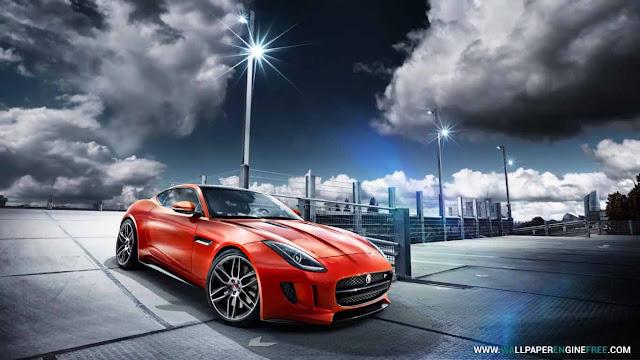 Red Jaguar Wallpaper Engine