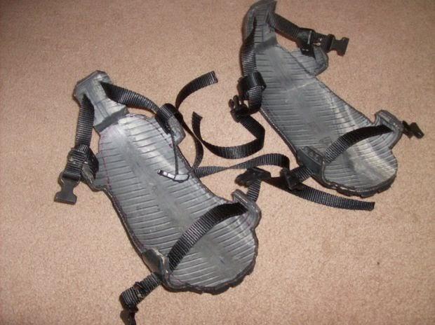 sandalas, reciclar, neumáticos, manualidades