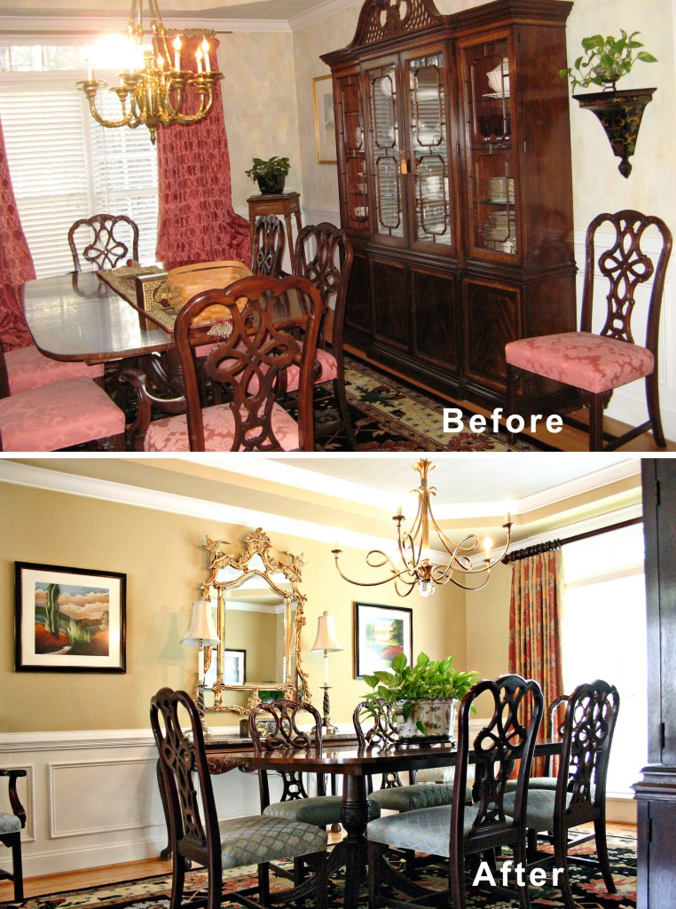 Interior Designs: Interior Decoration : Before's and After's.