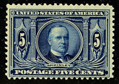 Louisiana Purchase-5¢ William McKinley Blue