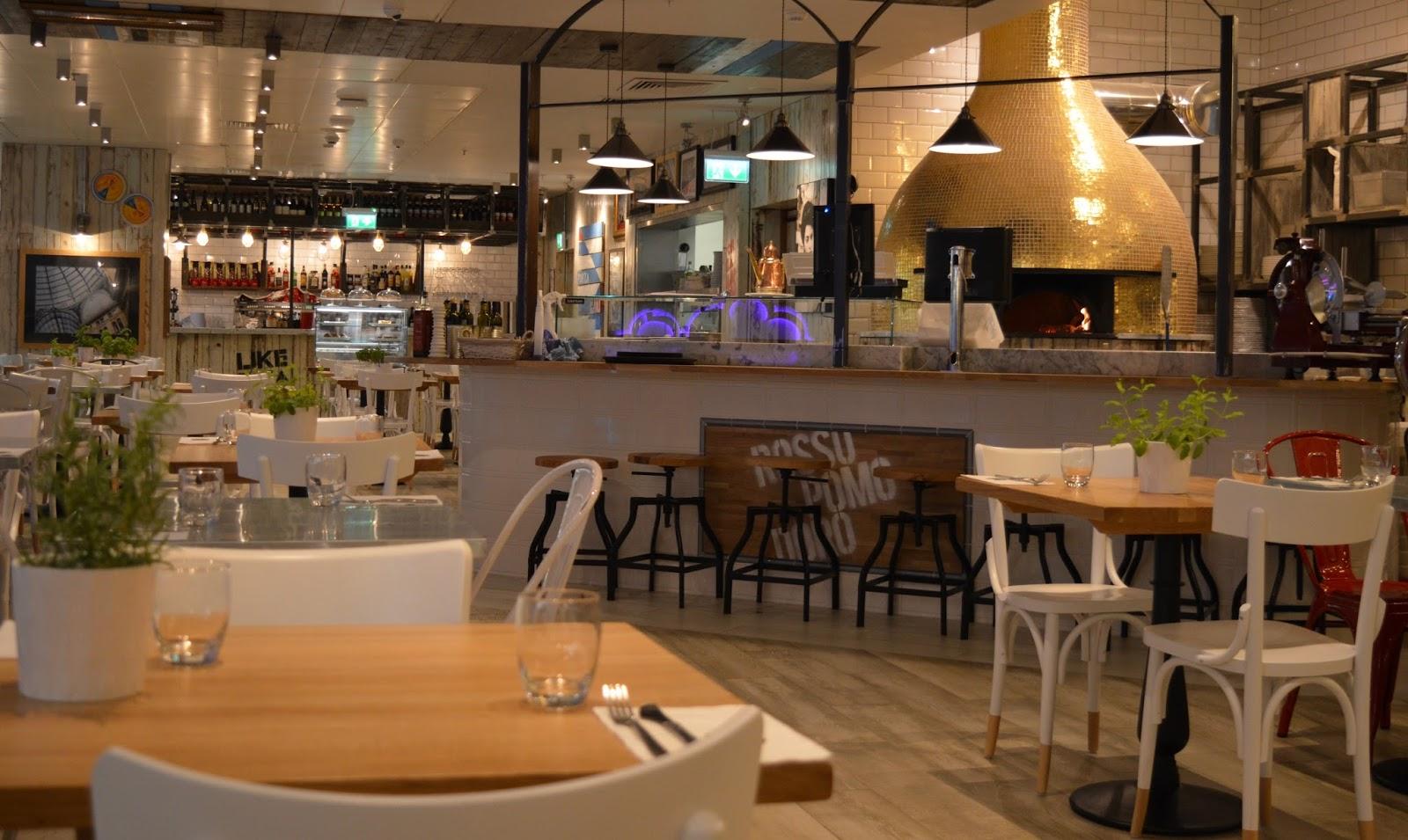 Rossopomodoro Neapolitan restaurant - John Lewis Newcastle interior