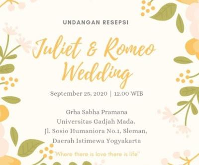 konten undangan digital pernikahan
