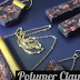Faux Lava Rock Polymer Clay Jewelry Tutorial
