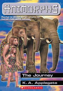 A girl (Rachel) turns into an elephant