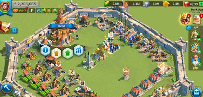 upgrade city hall ch rise of kingdoms