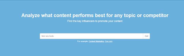 buzzsumo Content Idea Generator Tool
