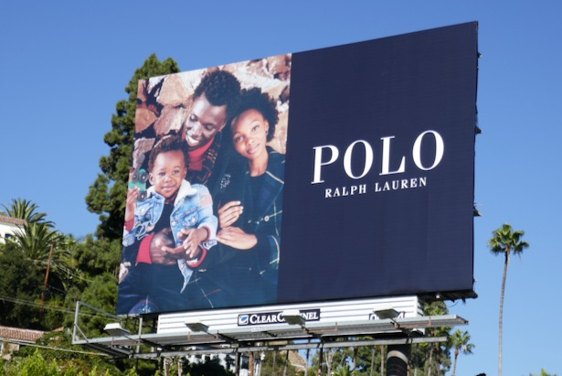 Polo Ralph Lauren Holidays 2019 billboard