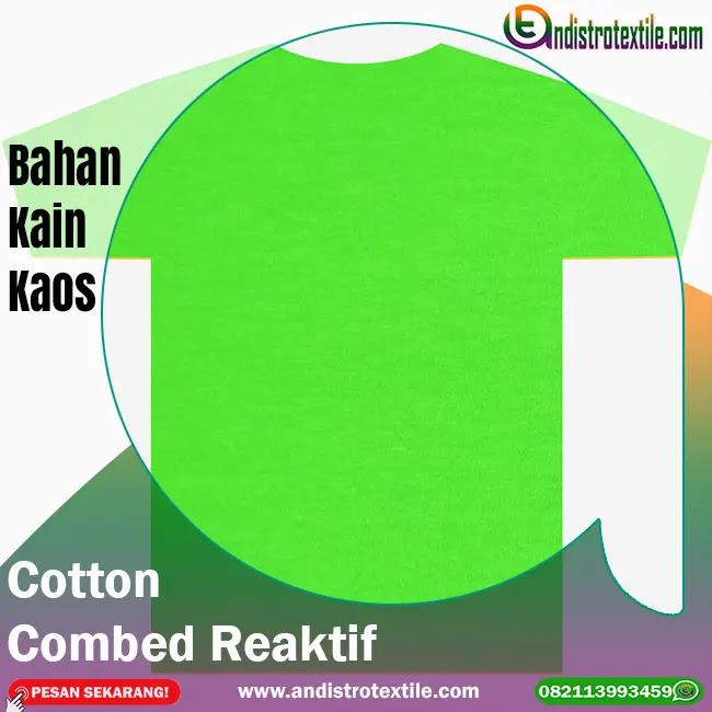 Bahan Kaos Cotton Combed 30s Tasikmalaya Harga Eceran