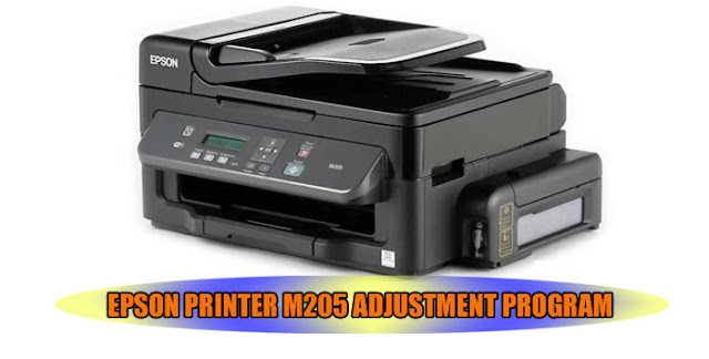 EPSON M205 PRINTER ADJUSTMENT PROGRAM