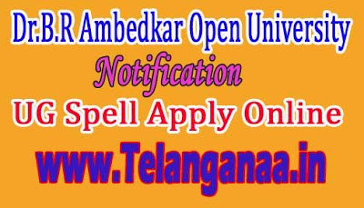 Dr.B.R Ambedkar Open University UG Spell-2 Revaluation Apply Online Notification