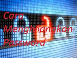 Menghilangkan password