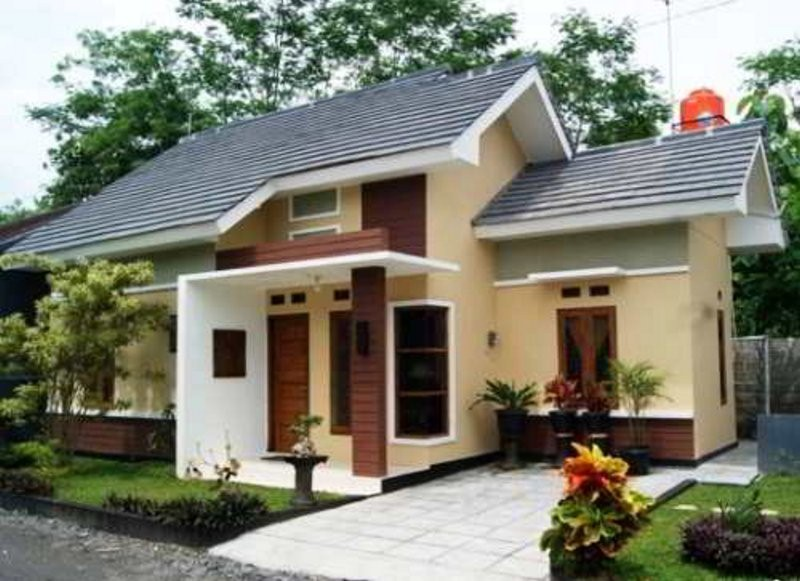 model rumah sederhana tapi kelihatan mewah yang bagus