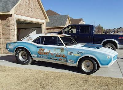 First Camaro before restoration.