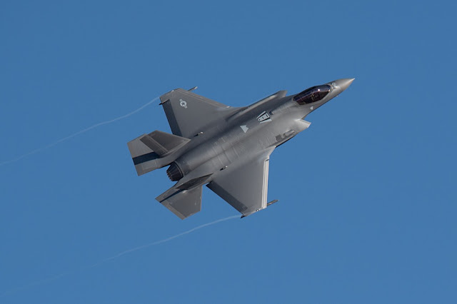 388FW flight newly delivered F-35