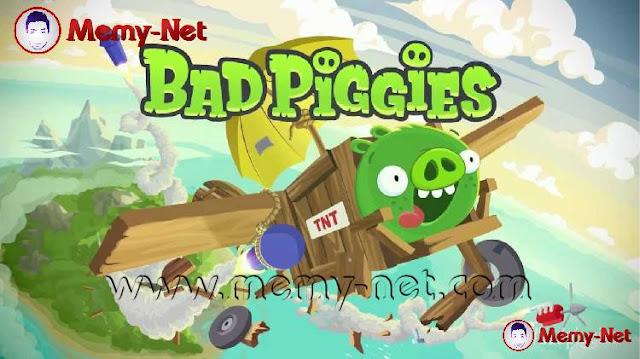 تحميل لعبة Bad Piggies MOD مهكرة لجميع الاجهزة