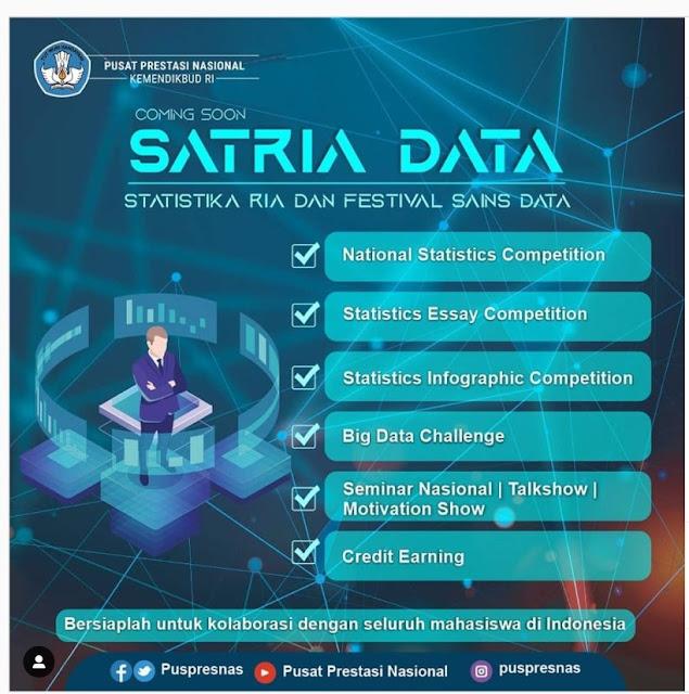 Pendaftaran SATRIA DATA tahun 2020 diperpanjang sampai 24 Agustus 2020 pukul 23.59 WIB tomatalikuang.com