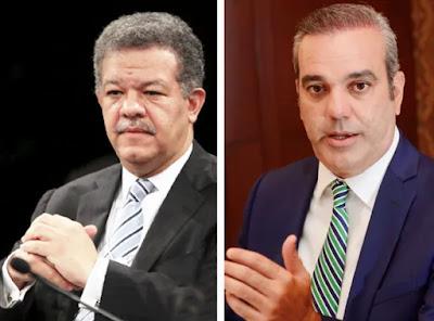 ENCUESTA Leonel ganaría la candidatura a Danilo, pero Abinader sería el ganador de las elecciones