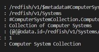 IT IMS Support: Working with iDRAC9 Redfish API using