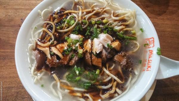 Beef chicken asado special, Masuki Mami, Chinese Noodles, Binondo, SM Megamall, Mall of Asia