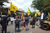 Demo Tolak UU Cipta Kerja, PMII Sidrap : DPR Dan Pemerintahan Fasilitasi Korporasi dan Oligarki