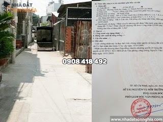 Bán đất quận 12 đường Lê Văn Khương phường Thới An - 4,5x16m giá 3 tỷ (MS 078)