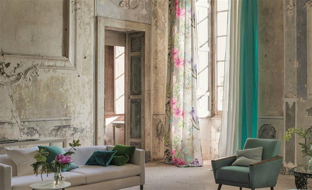 Consejos para acertar con las cortinas diariodeco - Designers guild telas ...